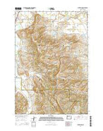 Laurelwood Oregon Current topographic map, 1:24000 scale, 7.5 X 7.5 Minute, Year 2014 from Oregon Map Store