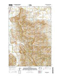 Laurelwood Oregon Current topographic map, 1:24000 scale, 7.5 X 7.5 Minute, Year 2014
