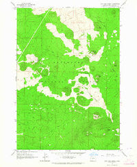 Lava Cast Forest Oregon Historical topographic map, 1:24000 scale, 7.5 X 7.5 Minute, Year 1963