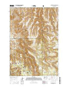 Lefevre Prairie Oregon Current topographic map, 1:24000 scale, 7.5 X 7.5 Minute, Year 2014