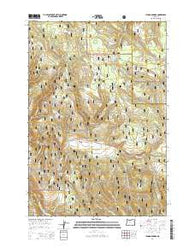 Lehman Springs Oregon Current topographic map, 1:24000 scale, 7.5 X 7.5 Minute, Year 2014