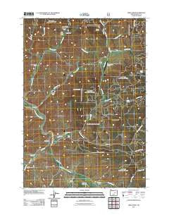 Lewis Creek Oregon Historical topographic map, 1:24000 scale, 7.5 X 7.5 Minute, Year 2011