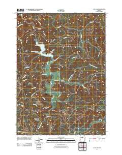 Loon Lake Oregon Historical topographic map, 1:24000 scale, 7.5 X 7.5 Minute, Year 2011