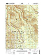 Maklaks Crater Oregon Current topographic map, 1:24000 scale, 7.5 X 7.5 Minute, Year 2014 from Oregon Map Store