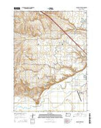 Malheur Butte Oregon Current topographic map, 1:24000 scale, 7.5 X 7.5 Minute, Year 2014 from Oregon Map Store