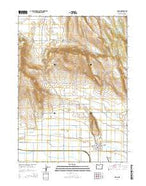 Malin Oregon Current topographic map, 1:24000 scale, 7.5 X 7.5 Minute, Year 2014 from Oregon Map Store