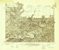 Mapleton Oregon Historical topographic map, 1:48000 scale, 15 X 15 Minute, Year 1918