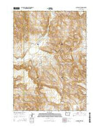 McEwen Butte Oregon Current topographic map, 1:24000 scale, 7.5 X 7.5 Minute, Year 2014 from Oregon Map Store