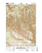 McIntyre Creek Oregon Current topographic map, 1:24000 scale, 7.5 X 7.5 Minute, Year 2014 from Oregon Map Store