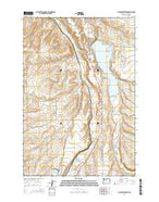 McKay Reservoir Oregon Current topographic map, 1:24000 scale, 7.5 X 7.5 Minute, Year 2014 from Oregon Map Store