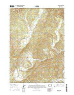 McKinley Oregon Current topographic map, 1:24000 scale, 7.5 X 7.5 Minute, Year 2014 from Oregon Map Store
