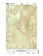 Mount Wilson Oregon Current topographic map, 1:24000 scale, 7.5 X 7.5 Minute, Year 2014 from Oregon Map Store