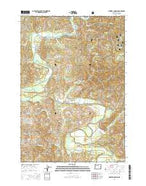 Mowrey Landing Oregon Current topographic map, 1:24000 scale, 7.5 X 7.5 Minute, Year 2014 from Oregon Map Store