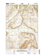 Mud Spring Oregon Current topographic map, 1:24000 scale, 7.5 X 7.5 Minute, Year 2014 from Oregon Map Store