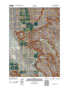 New Princeton Oregon Historical topographic map, 1:24000 scale, 7.5 X 7.5 Minute, Year 2011