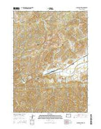 Nickel Mountain Oregon Current topographic map, 1:24000 scale, 7.5 X 7.5 Minute, Year 2014 from Oregon Map Store