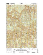 Nicolai Mountain Oregon Current topographic map, 1:24000 scale, 7.5 X 7.5 Minute, Year 2014 from Oregon Map Store
