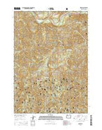 Nimrod Oregon Current topographic map, 1:24000 scale, 7.5 X 7.5 Minute, Year 2014 from Oregon Map Store