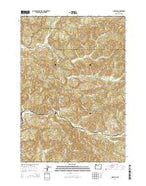 Nortons Oregon Current topographic map, 1:24000 scale, 7.5 X 7.5 Minute, Year 2014 from Oregon Map Store