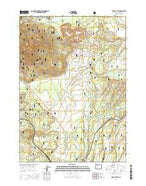 Odell Butte Oregon Current topographic map, 1:24000 scale, 7.5 X 7.5 Minute, Year 2014 from Oregon Map Store