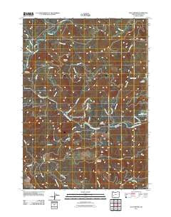 Old Fairview Oregon Historical topographic map, 1:24000 scale, 7.5 X 7.5 Minute, Year 2011