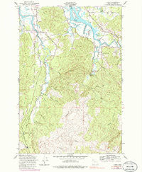 Olney Oregon Historical topographic map, 1:24000 scale, 7.5 X 7.5 Minute, Year 1949