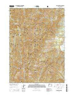 Onion Mountain Oregon Current topographic map, 1:24000 scale, 7.5 X 7.5 Minute, Year 2014 from Oregon Map Store