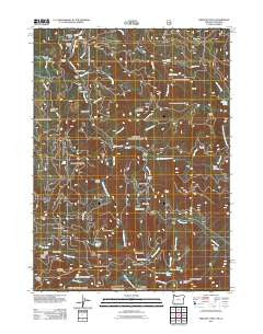 Oregon Caves Oregon Historical topographic map, 1:24000 scale, 7.5 X 7.5 Minute, Year 2011