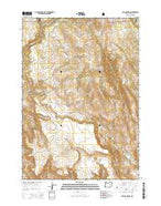 Otis Mountain Oregon Current topographic map, 1:24000 scale, 7.5 X 7.5 Minute, Year 2014 from Oregon Map Store