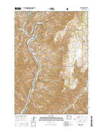 Oxbow Oregon Current topographic map, 1:24000 scale, 7.5 X 7.5 Minute, Year 2014 from Oregon Map Store