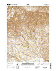 Payne Creek Oregon Current topographic map, 1:24000 scale, 7.5 X 7.5 Minute, Year 2014 from Oregon Maps Store