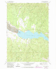 Phillips Lake Oregon Historical topographic map, 1:24000 scale, 7.5 X 7.5 Minute, Year 1972
