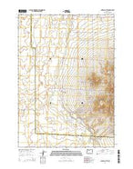Powell Butte Oregon Current topographic map, 1:24000 scale, 7.5 X 7.5 Minute, Year 2014 from Oregon Map Store