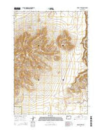 Powell Buttes Oregon Current topographic map, 1:24000 scale, 7.5 X 7.5 Minute, Year 2014 from Oregon Map Store