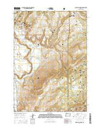 Powell Mountain Oregon Current topographic map, 1:24000 scale, 7.5 X 7.5 Minute, Year 2014 from Oregon Map Store