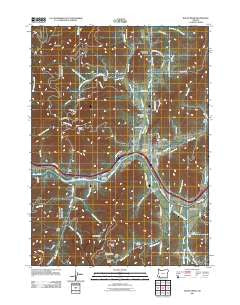 Rogue River Oregon Historical topographic map, 1:24000 scale, 7.5 X 7.5 Minute, Year 2011