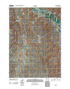 Rome Oregon Historical topographic map, 1:24000 scale, 7.5 X 7.5 Minute, Year 2011