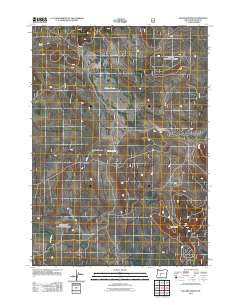 Sellers Marsh Oregon Historical topographic map, 1:24000 scale, 7.5 X 7.5 Minute, Year 2011