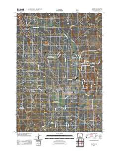 Sisters Oregon Historical topographic map, 1:24000 scale, 7.5 X 7.5 Minute, Year 2011
