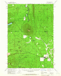 Sisters Oregon Historical topographic map, 1:62500 scale, 15 X 15 Minute, Year 1959