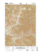 Sterling Creek Oregon Current topographic map, 1:24000 scale, 7.5 X 7.5 Minute, Year 2014 from Oregon Map Store