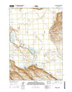 Stinking Lake Oregon Current topographic map, 1:24000 scale, 7.5 X 7.5 Minute, Year 2014 from Oregon Map Store
