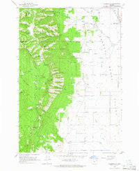 Summerville Oregon Historical topographic map, 1:24000 scale, 7.5 X 7.5 Minute, Year 1963