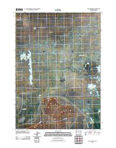 The Narrows Oregon Historical topographic map, 1:24000 scale, 7.5 X 7.5 Minute, Year 2011