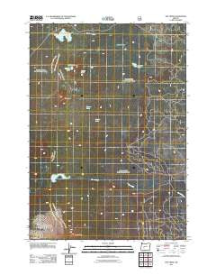 The Twins Oregon Historical topographic map, 1:24000 scale, 7.5 X 7.5 Minute, Year 2011