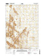 Turnbull Peak Oregon Current topographic map, 1:24000 scale, 7.5 X 7.5 Minute, Year 2014 from Oregon Map Store