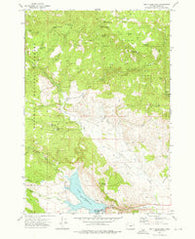 Unity Reservoir Oregon Historical topographic map, 1:24000 scale, 7.5 X 7.5 Minute, Year 1972