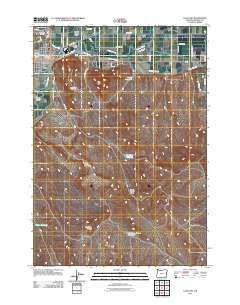 Vale East Oregon Historical topographic map, 1:24000 scale, 7.5 X 7.5 Minute, Year 2011