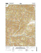 Walton Oregon Current topographic map, 1:24000 scale, 7.5 X 7.5 Minute, Year 2014 from Oregon Map Store