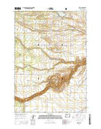 Wamic Oregon Current topographic map, 1:24000 scale, 7.5 X 7.5 Minute, Year 2014 from Oregon Map Store